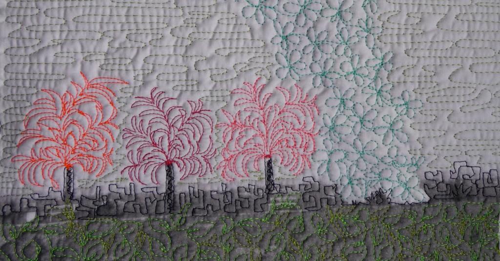 Schlote zu Palmen - Detail - ©miachammas 2010